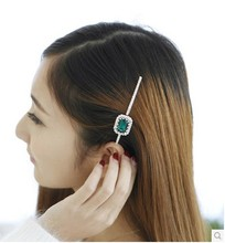 Min. order is 9usd(mix order)Royal vintage gem clip side-knotted clip hairpin hair accessory hair accessory(China)