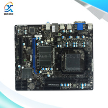 MSI 860GM-P43(FX) Original Used Desktop Motherboard AMD 760G Socket AM3+  DDR3 16G SATA2 USB2.0 Micro ATX