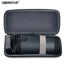 XBERSTAR Storage Case Bag For Bose Soundlink Revolve / Revolve Plus Revolve+ Protector Hard EVA+ PU Travel Carrying