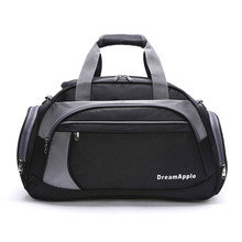 2017 New Professional Single Shoulder Gym Bag Fitness 35L Big Capacity Sports Bag Nylon Handbag Athletic Training Bag
