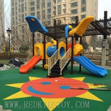 Exported to Russia Quality Warranted Anti-rust Playground Set for Children HZ-05001