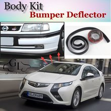 Bumper Lip Lips For Opel Ampera Volt 2011~2015 / GOOD LUCK Shop Spoiler Scratch Proof Adhesive / TOPGEAR Recommend Body Kit