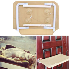 Max 20KG Cat Bed Basking Window Hammock Perch Cushion Bed Hanging Shelf Seat Cat Toys for