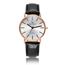 Simple Relogio Masculino 2017 Fashion Male Leather Quartz Watch Men Sport Wristwatch Luxury Top Brand Business Men's Watches