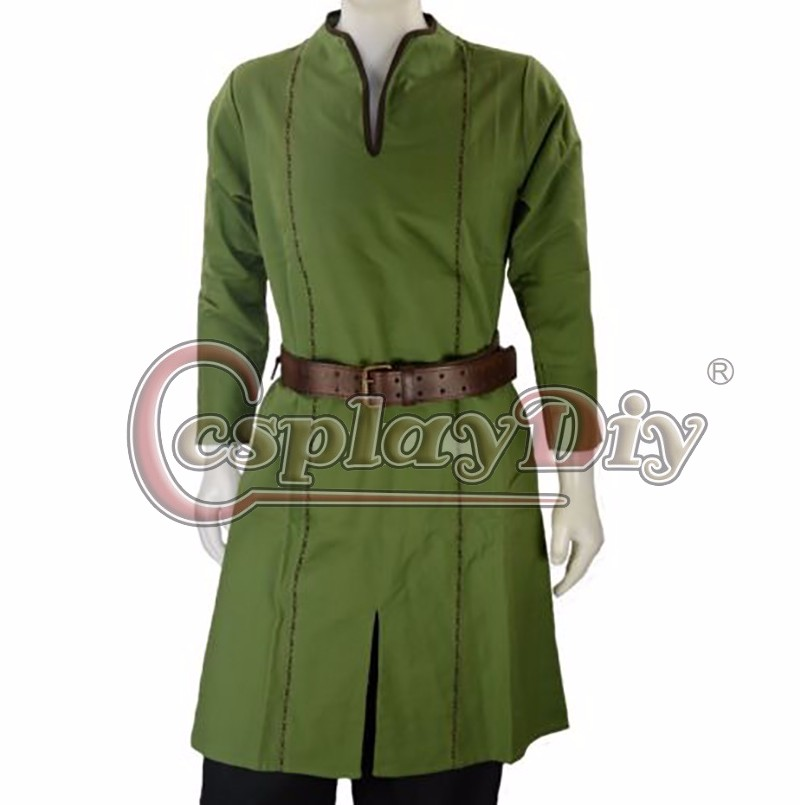 Custom Made Medieval Viking Norseman Lotr Mens All Period Shirt Tunic Costume Adult MensHalloween Costume D0114(China (Mainland))