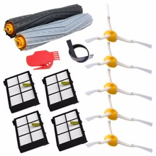 13Pcs/Lot Tangle-Free Debris Extractor Replacement Kit iRobot Roomba 800 900 series 870 880 980 Vacuum Robots accessory parts(China)