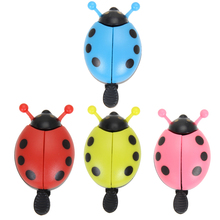 3pcs Kids Bicycle Bells Cartoon Ladybug Horn Bike Bicycle Cycling Handlebar Ring Sound Horn Bike Alarm Bell Mount to handlebar