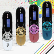 wholesale Superior Mini USB MP3 Player LCD Screen Support 32GB Micro SD TF Card Slot Digital mp3 music player FM Radio