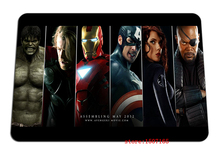 best The Avengers mouse pad Christmas gift large pad to mouse computer mousepad Thor gaming mouse mats to mouse gamer