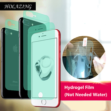"Buy HOLAZING New Required Water Hydrogel Film 4D Full Coverage Screen Protector iPhone 7 4.7"" AUTO Fixed Skin Layer for $1.20 in AliExpress store"