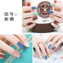 Pure Color Nail Stickers Patch Environmental Nail Foils Polish Wraps Adhesive Manicure Nail Decoration Supplies(China)