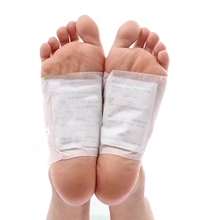 26pcs/lot Kinoki Detox Foot Pads Patch Body Neck Back Feet Massager Tens Relief Relieving Pain Medicated Plaster Help Sleep C442(China)