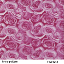 Free shipping!FW052-3 Decorative Material 5 square Width 0.5m flower patterns water transfer printing film(China)
