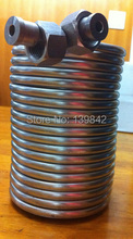 50' Stainless Steel Coil 5' Diameter homebrew Draft box 304 stainless steel Immersion Wort Chiller