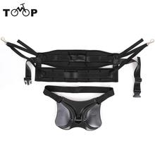 Fishing Belt Rod Holder + Fishing Harness Rock Waist Gimbal Fighting Belt Fishing Rod Pole Stand Saltwater Fishing Tackle(China)