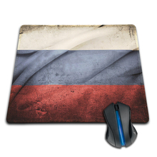 Babaite Russian Flag New Anti-Slip PC Laptop Mouse Pad Mat Mice Pad for Optical Trackball Laser Mouse Free shipping