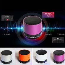 New S10 Bluetooth Speaker Small Steel Gun Bluetooth Speaker Portable Card FM Talk Mini Bluetooth Speaker(China)