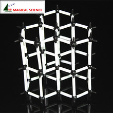 MAGICAL SCIENCE 9mm Graphite structure model Chemical crystal model for school students
