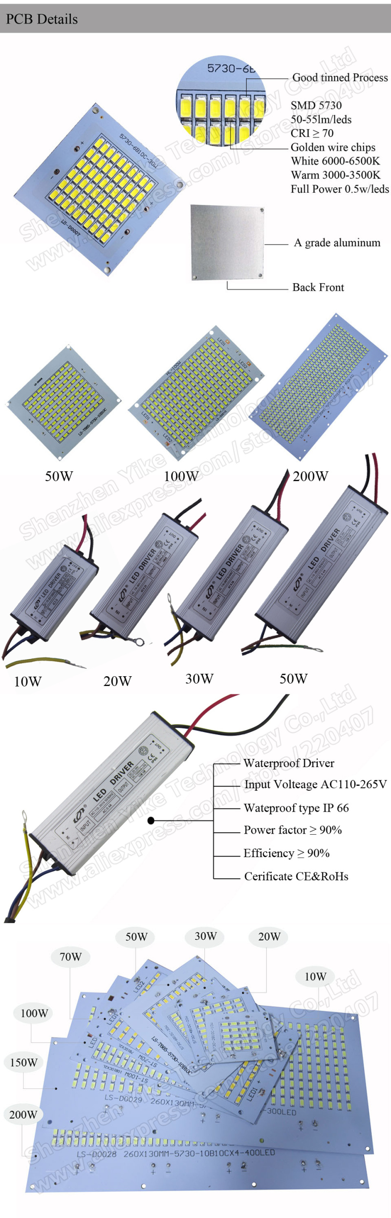 10-200W--PCB---detailsWITH-DRIVER-