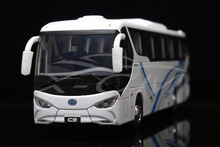 Diecast Bus Model BYD Pure Electric Bus C9 1:36 (White) + SMALL GIFT!!!!!!!!!!(China)