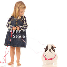 1 pcs Birthday party Walking Helium Pet Balloon Animal Walker French Bulldog