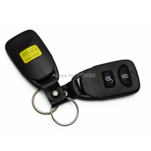 New Replacement 2 Buttons Remote Key Shell Replace For Kia Key Case Fob Key With Logo Free Shipping