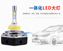 DLAND N11 AUTO LED BULB LAMP LIGHTS FOR NISSAN TOYOTA HONDA, XHP50 CHIP 4800LM, IP68 H1 H3 H4 H7 9006 9005 H8 H10 H11 H13
