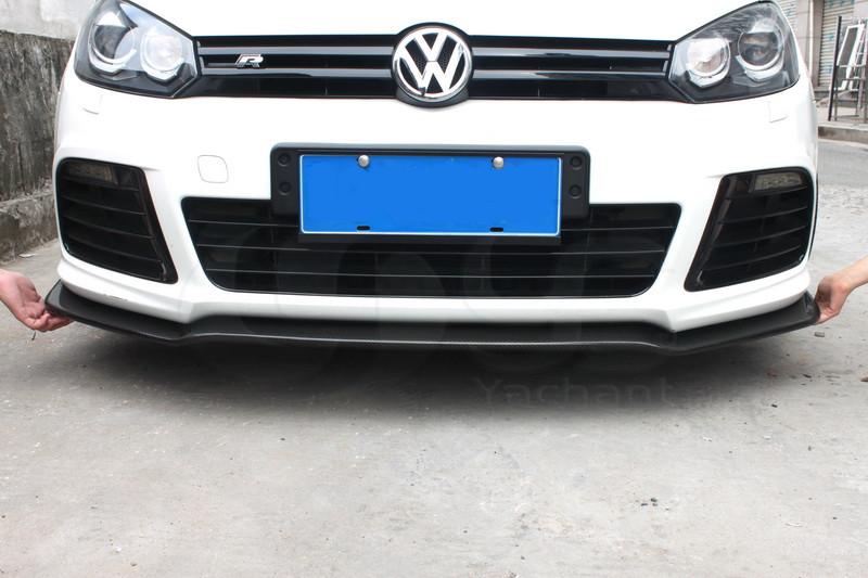2010-2012 Volkswagen Golf 6 R20 Front Lip CF (27)