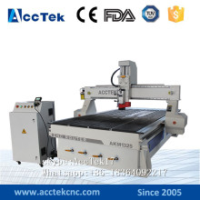 Jinan AccTek 1325 3axis/ 4axis wood cnc router 1325 / low price cnc wood lathes vacuum table
