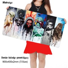 Mairuige Store Star War 2017 New Hot Small and Large Super Office Gaming Mouse Pad Speed Computer Laptop Mouse Pad Table Mat(China)