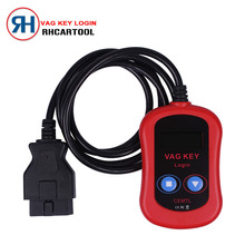 2017 Car Styling VAG Key Login Easy to use work by obd2 ,for audi vw pin code reader VAG PIN Code Reader / Key Programmer 2 in 1(China)