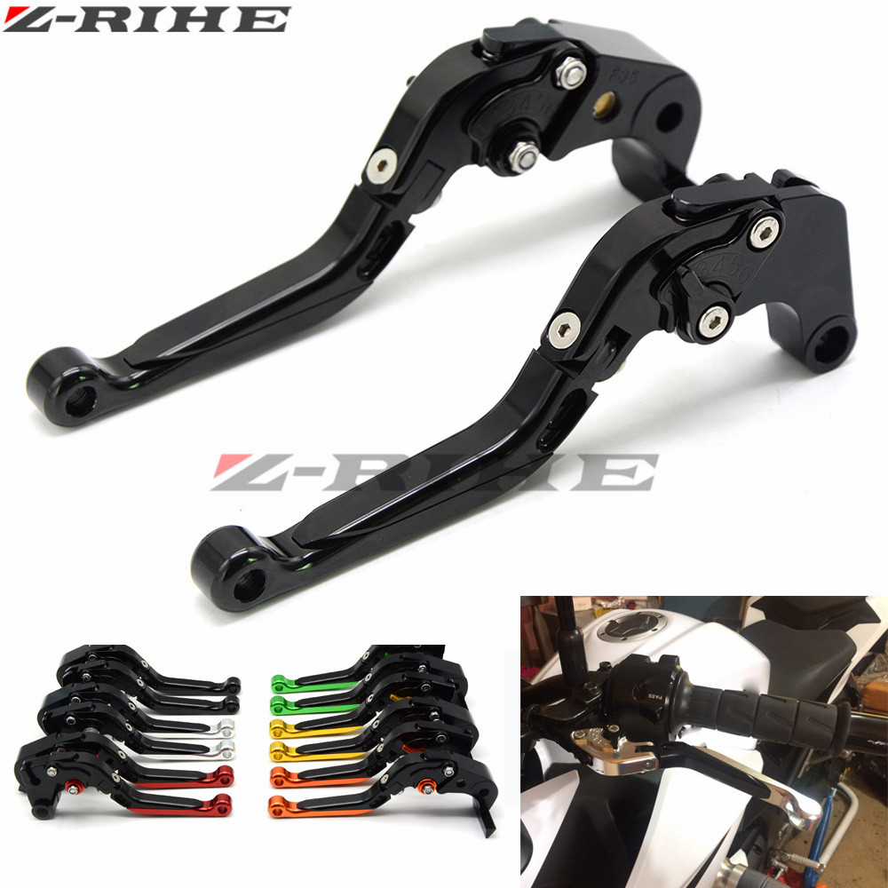 For KAWASAKI Z1000SX/NINJA 1000/Tourer 2011-2016 Z750R 2011-2012 ZX6R 07-2016  Motorcycle Folding Extendable Brake Clutch Levers<br>