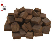 50g Oak Block Home Brewing Wine Wood Barrel Flavour France And America Oak Chips High Quality(China)