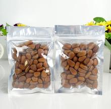 Alice,200pcs/lot 10*17cm Ziplock aluminum foil bag in food storage bags,nut/tea/candy bags packaging,Wholesale!