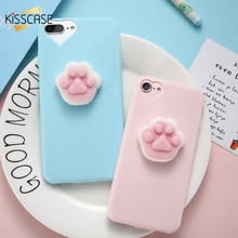 Buy KISSCASE 3D Squishy Case iPhone 5 6 6s 7 7 Plus Lovely Cute Funny Animal Soft TPU Cover Case iPhone 5 5S SE 6 6s 7 Plus for $2.99 in AliExpress store