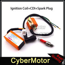 Racing Ignition Coil AC CDI Spark Plug For 50cc 70cc 90cc 110cc 125cc Engine Chinese ATV Quad Pit Pit Dirt Motor Bike Motorcycle