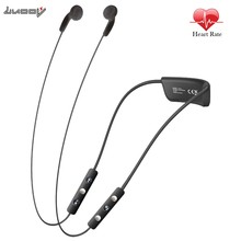 LUOOV Heart rate Earphone Bluetooth Sport Wireless Stereo Earbuds with Built-In Heart Rate Monitor Headset