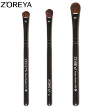 ZOREYA Brand Natural Pony Hair 3pcs Eyeshadow Brush Makeup Brushes High Quality Cosmetic Tool For Beauty Women