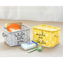 Cotton Mediterranean Arrow Compact Convenient Office Home Sundries Card Storage Pencil Holder Wire Basket Organizer Project Box(China)