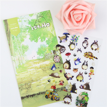 1 Pcs Daisyland My Neighbor Totoro Chinchill Design Diary Gallery Stationery Letter Decorative Pet Sticker Memo Pad