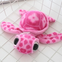 1pcs 15cm Lovely Big Eyes Colorful Turtle Plush Toys for Children Stuffed Plush Tortoise Doll Toys Kids Friends Gift(China)