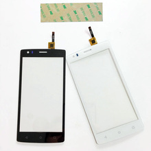 5.0'' Cell  Phone Touch Screen Panel For Fly FS502 Cirrus 1 FS 502  Sensor Touchscreen Digitizer Glass Front Panel+3M Sticker