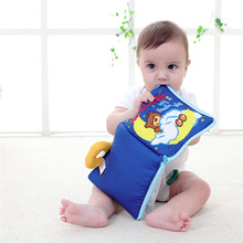 2017 Baby Cloth Book Children Kids Educational Toys Soft Fabric English Learning Story Quiet Book For Newborn