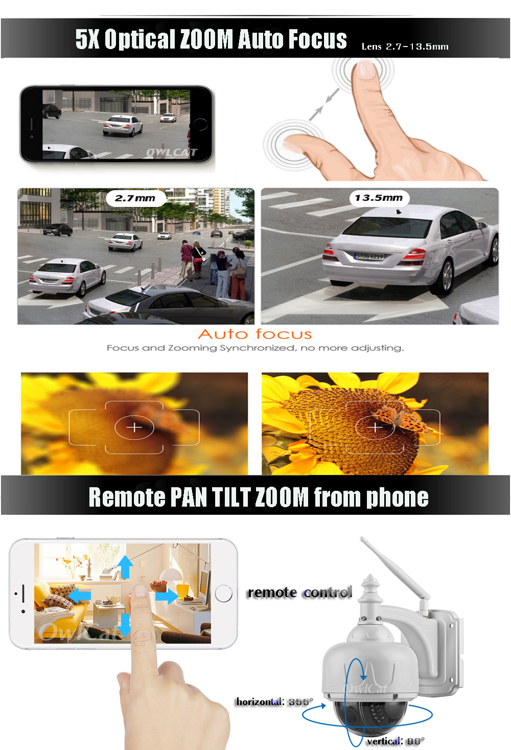 5x zoom - remote phone ptz (2)