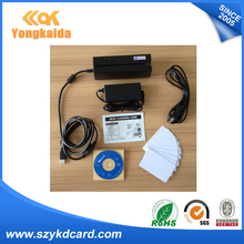 MSR900 interface USB Magnetic stripe Encoder Magnetic Card Reader Writer All 3 Tracks