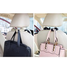 2pcs Universal Car Auto Vehicle Back Seat Headrest Hanger Holder Hook Bag Purse P00