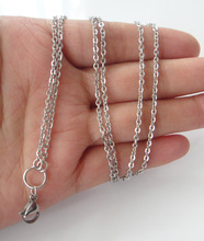 Buy 60cm 70cm 80cm 2mm Width Floating Charm Locket Pendant Chain Stainless Steel Necklace Fashion Stainless Steel Jewelry for $11.40 in AliExpress store