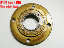 Metric negative Thread 95MM Bore 34MM Flywheel Electric scooter Freewheel 4-bolt Tricycle Clutch Bearing