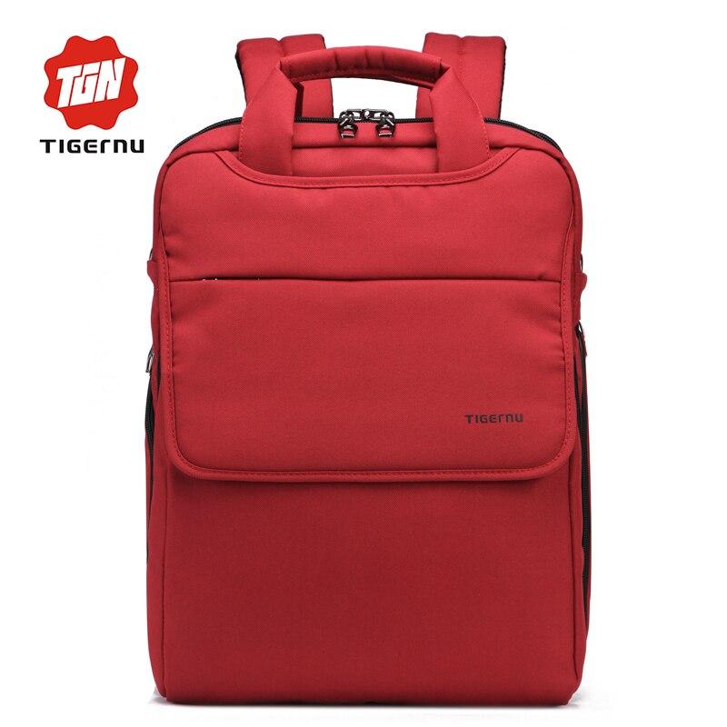 TIGERNU BRAND Student Waterproof Backpack for Teenage Boys Girls Black&amp;Purple Fashion Preppy Book Bag Dropproof Nylon 14 Inch<br><br>Aliexpress