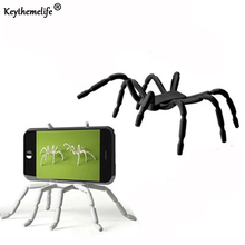 Keythemelife 1pc Storage rack Stand Apple Mobile Phone Holder Universal Spider Upgrade Version Storage Holder for Book Phone 2D(China)